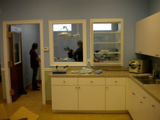 Small animal surgery room