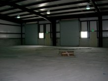 Spacious warehouse