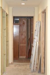 Progress on 5/23/17 of closet doors