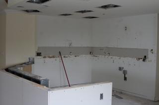 Progress on 5/23/17 of kitchen